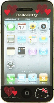 HelloKitty iPhone4
